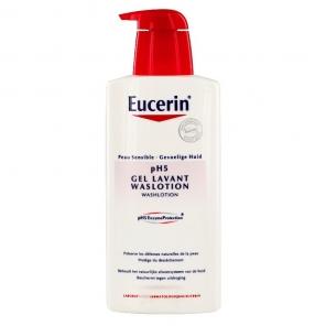 Eucerin peau sensible Ph5 gel lavant 400ml