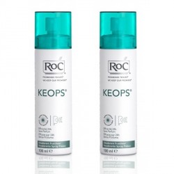 Keops déodorant spray fraicheur 2 x 100ml