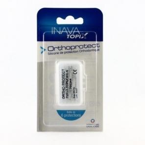 Inava Topix Othoprotect Boîte de 6 Protections en Silicone Orthodontique