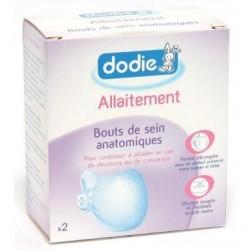 Dodie Allaitement Bouts de Sein Anatomiques x2