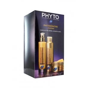 Phyto Phytokératine Coffret Crème+Shampooing +Masque