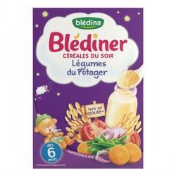 Blédina blédiner légumes potager 240g