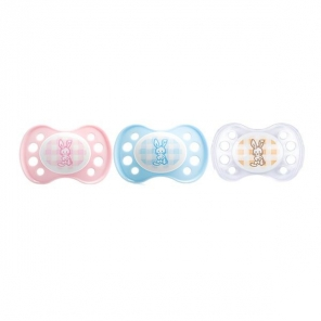 Dodie sucette anatomique silicone n°A25 0-2 mois