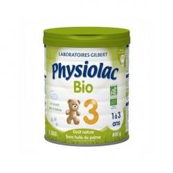 Physiolac Bio de 1 à 3 ans 800g