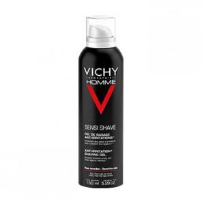 Vichy Homme Gel De Rasage - Anti-Irritations mousse à raser 150ml